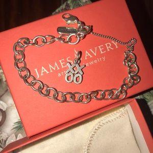 James Avery Bracelet with XO charm! NWOT